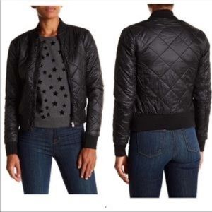 Romeo + Juliet Couture Puffer Members Only Jacket